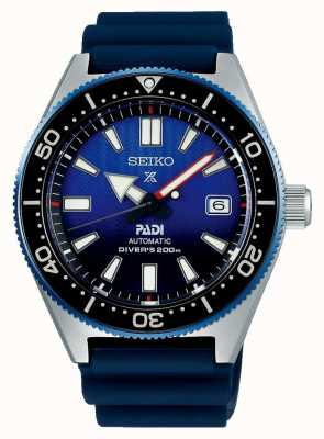 Seiko Prospex PADI Recreation Blue Dial Blue Resin Strap SPB071J1
