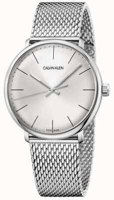 Calvin Klein Mens High Noon Stainless Steel Mesh Watch K8M21126