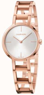 Calvin klein city rose gold watch