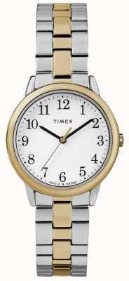 Timex Easy Reader Women's 30mm Stainless Steel Watch TW2R58800