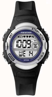 Timex Marathon Black Rubber Watch TW5M14300