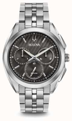 Bulova Mens Curv Chronograph Dress 96A186