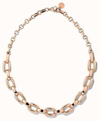 Tommy Hilfiger Rose Gold Tone Smooth Link Necklace 2700835