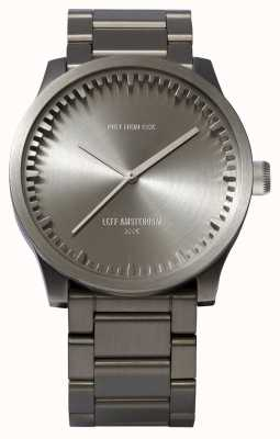 Leff Amsterdam Tube Watch S42 Steel Case Steel Bracelet LT72101