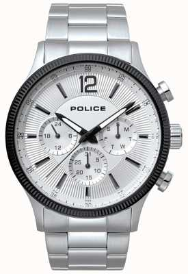 Police Mens Feral Stainless Steel And Black Watch 15302JSTB/01M