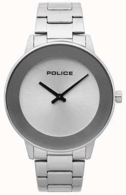 Police Mens Sunrise Stainless Steel Minimalistic Watch 15386JS/04M
