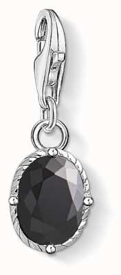 Thomas Sabo Black Stone Sterling Silver Blackened Zirconia 1669-643-11