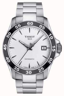 Tissot Mens V8 Swissmatic Silver Dial Stainless Steel EX DISPLAY T1064071103100EX-DISPLAY