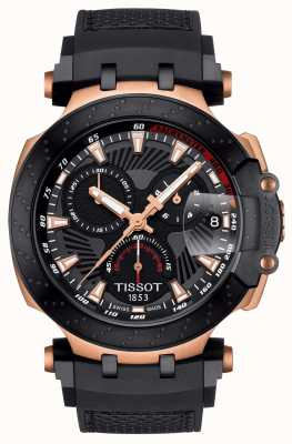 Tissot Mens T-Race MotoGP 2018 Limited Edition Black Rubber Strap T1154173706100