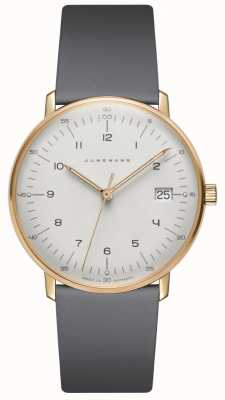 Junghans Max Bill Damen Quartz Grey Leather Watch 047/7854.00