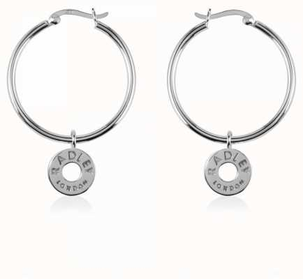 Radley Jewellery Esher Street Sterling Silver Hoop Earrings RYJ1005