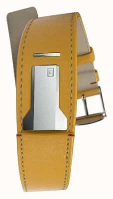 Klokers KLINK 01 Newport Yellow Strap Only 22mm Wide 230mm Long KLINK-01-MC7.1
