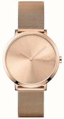 Lacoste Moon Rose Gold Dial And Rose Gold Mesh Strap 2001028