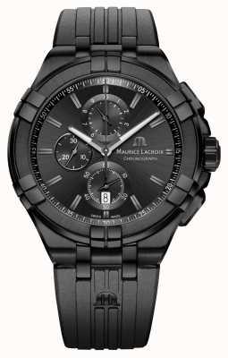 Maurice Lacroix Aikon Quartz Chronograph Black PVD AI1018-PVB01-333-1