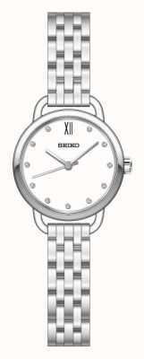 Seiko Womens Recraft Silver Tone Bracelet SUR697P1