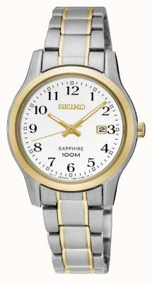 Seiko Womens Two Tone Dress Watch SXDG90P1