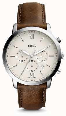 Fossil Mens Neutra Chrono Leather Strap FS5380