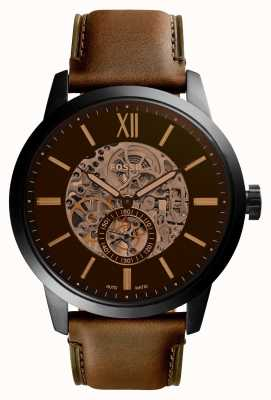 Fossil Mens 48Mm Townsman Leather Strap ME3155
