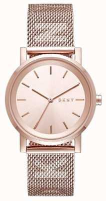 DKNY Womens Soho Stainless Steel Strap NY2622