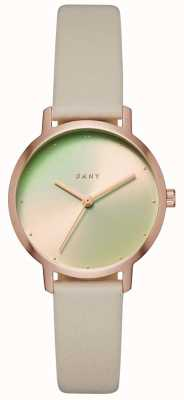 DKNY Womens The Modernist Leather Strap NY2740