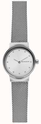 Skagen Womens Freja Stainless Steel Mesh Strap SKW2715