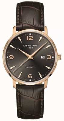 Certina Men's DS Caimano 39mm Rose Gold Quartz C0354103608700