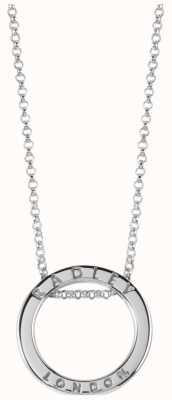 Radley Jewellery Esher Street Silver Circle Necklace RYJ2003