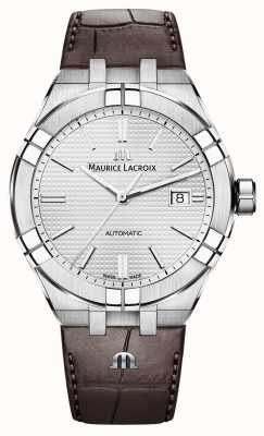 Maurice Lacroix Aikon Automatic Brown Leather Watch AI6008-SS001-130-1