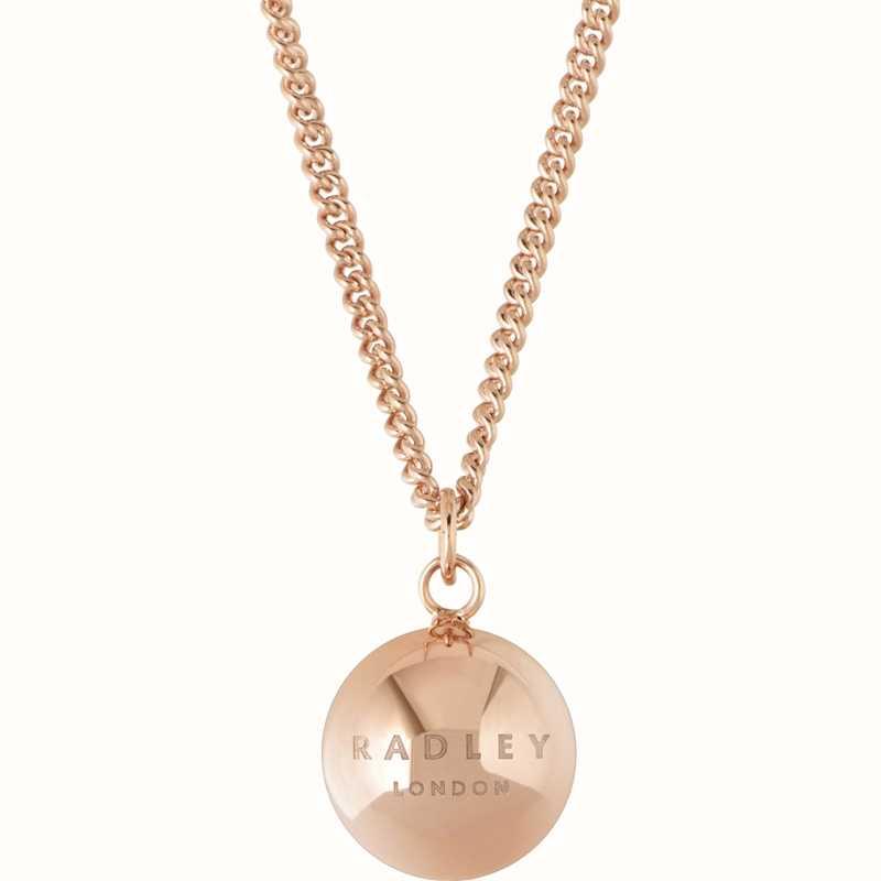Radley Love Silver Necklace RYJ2015 9MxKX