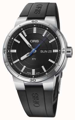 Oris Williams TT1 Day Date Black Rubber Strap 01 735 7752 4154-07 4 24 06FC