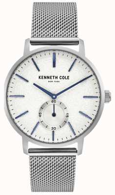 Kenneth Cole Mens Stainless Steel Subdial Watch KC50055002