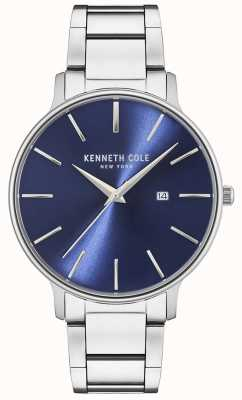 Kenneth Cole Stainless Steel Blue dial watch KC15059003