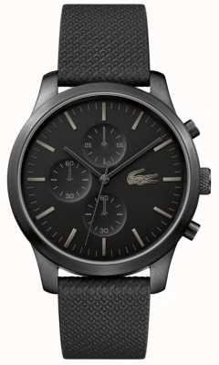 Lacoste 12.12 Mens 85th Anniversary Triple Black Watch 2010947