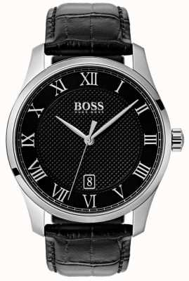 BOSS Master | Black Dial | Black Leather Strap 1513585