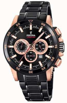 Festina Special Edition 2018 Chrono Bike PVD Plated Watch F20354/1