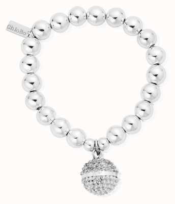 ChloBo Sterling Silver Medium Ball Dreamball Bracelet SBMB824