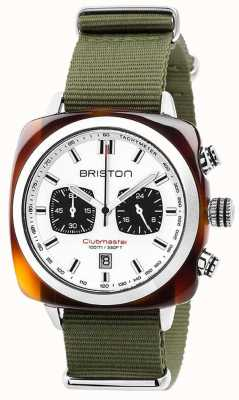 Briston Clubmaster Sport Jungle White Dial 17142.SA.TS.2.NGA