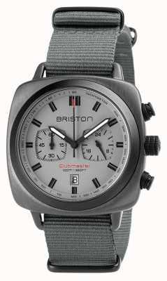 Briston Clubmaster Sport NATO Strap Grey 18142.SPG.SP.12.NG