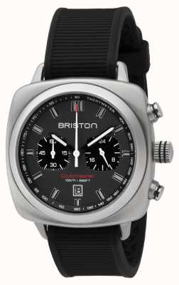 Briston Clubmaster Sport Black Rubber Grey Matt Dial 16142.S.SP.17.RB