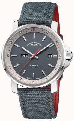 Muhle Glashutte The 29er Tag Datum Titanium Grey Watch M1-25-34-NB