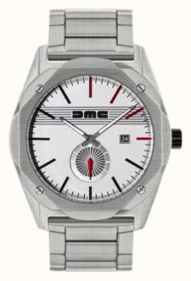 DeLorean Motor Company Watches THE DREAM STEEL stainless steel silver dial DMC-4