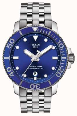 Tissot Seastar 1000 Powermatic 80 Blue Dial Stainless Steel T1204071104100