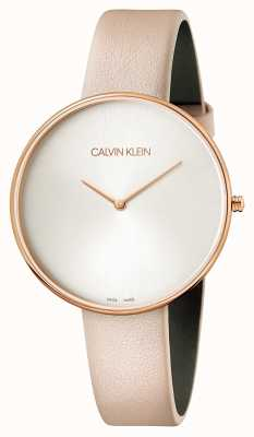 Calvin Klein Ladies Full Moon Pink Leather K8Y236Z6