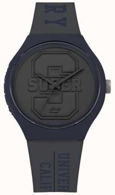Superdry Urban XL Varsity Matt Grey Dial Grey Strap SYG240EU