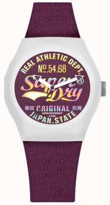 Superdry Urban Paradise Mullberry Dial And Strap SYL249V