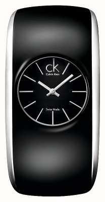 Calvin Klein Gloss Womens All Black Watch K6093101
