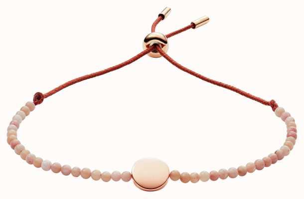 Fossil womens vintage motifs Pink Bracelet JF02980791