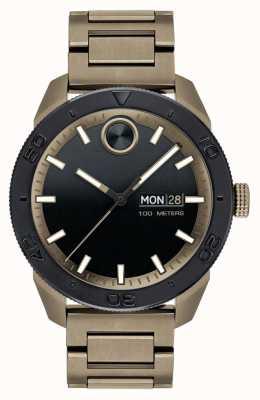 Movado Mens Bold Ion-Plated Sports Bracelet 3600511