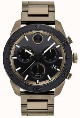 Movado Mens Bold IP-Plated Bracelet Sports Chronograph 3600513