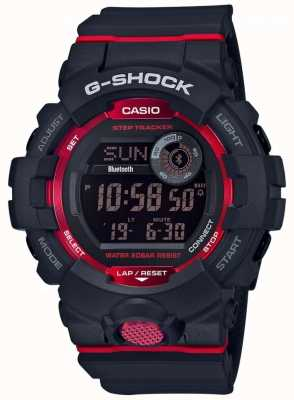 Casio G-Squad Black/Red Digital Bluetooth Step Tracker GBD-800-1ER